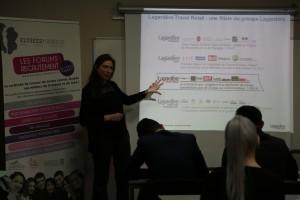 Intervention de Lagardère sur le Travel Retail à l'école Elysées Marbeuf